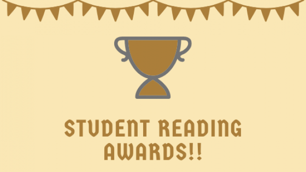 Student reading awards!!