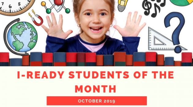 i-Ready student of the month
